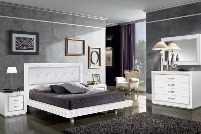 Camera da letto for Camere da letto bianche