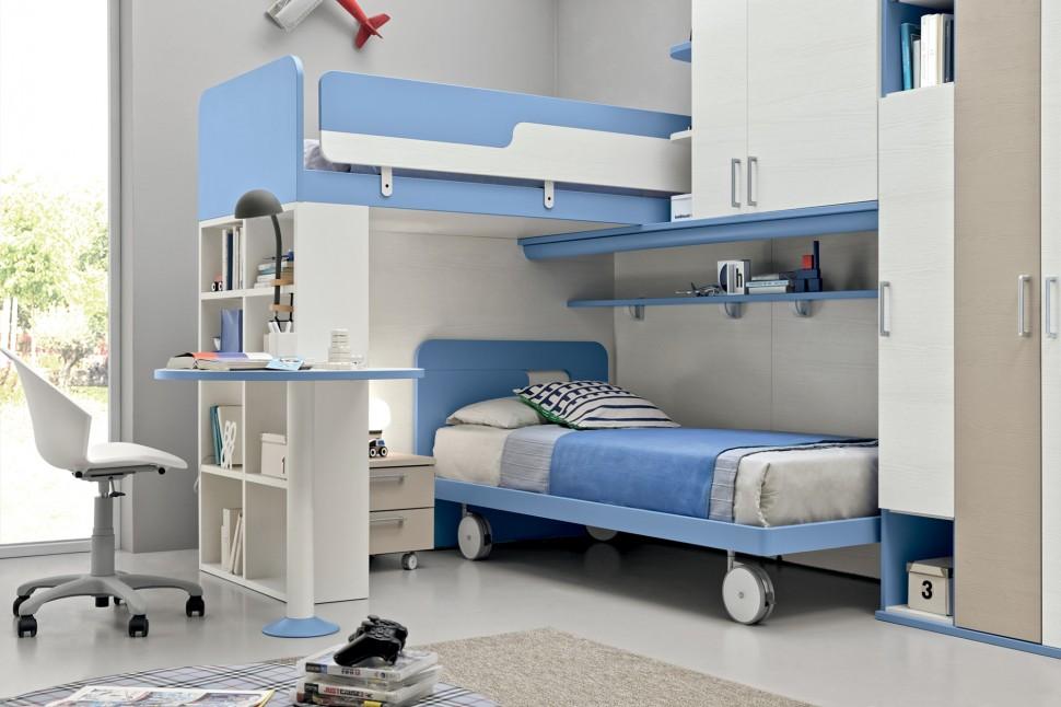 Camere per ragazzi for Camere per ragazzi moderne